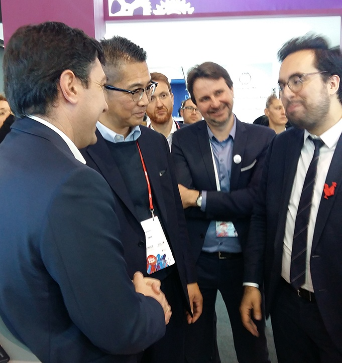 Pradeo and DNP at the MWC 2018
