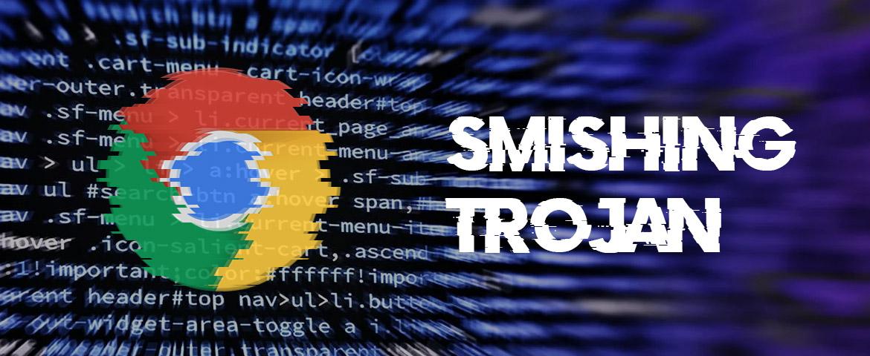 Attention à ce Smishing Trojan qui prétend être l'application Chrome